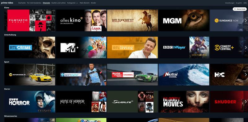amazon channels on-demand serien filme dokumentationen