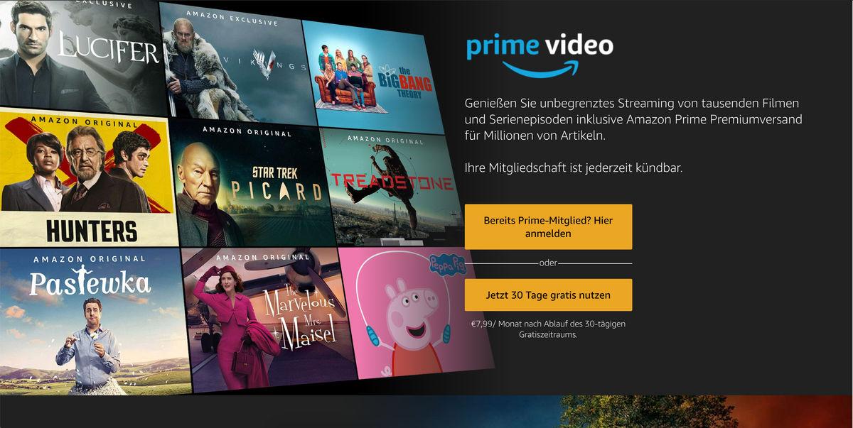Amazon Prime Video: Kosten, Test-Phase, Angebot und weitere Infos zum Streaming-Dienst