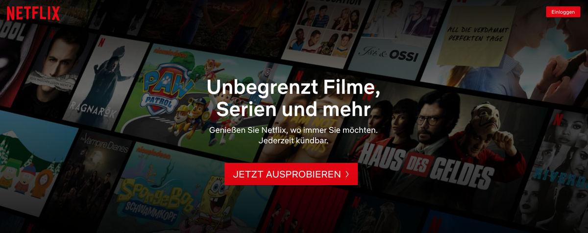 Netflix: Kosten, Test-Phase, Auswahl und weitere Infos zum Streaming-Dienst