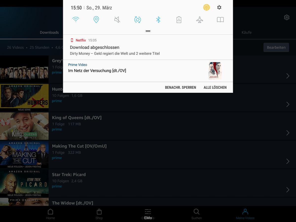 Filme und Serien herunterladen und offline schauen