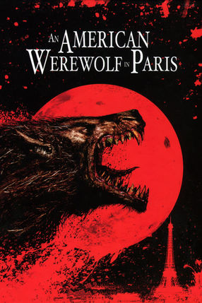 Poster: American Werewolf in Paris