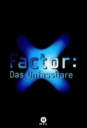 Poster: X-Factor: Das Unfassbare