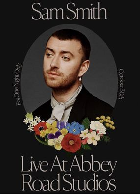 Poster: Sam Smith: Love Goes - Live at Abbey Road Studios