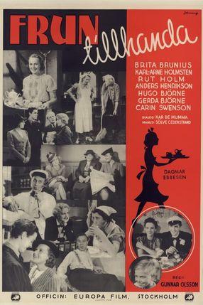 Poster: Frun tillhanda