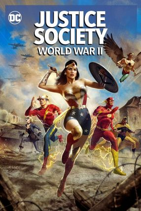Poster: Justice Society: World War II