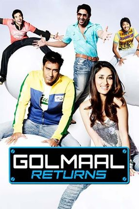 Poster: Golmaal Returns