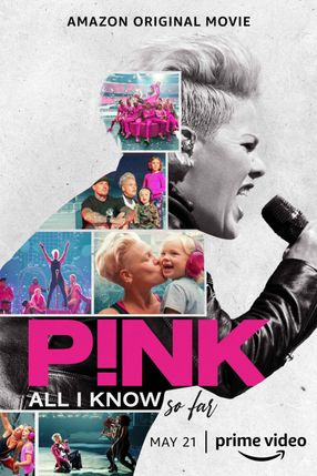 Poster: P!nk: All I Know So Far