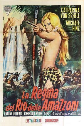 Poster: Lana - Königin der Amazonen