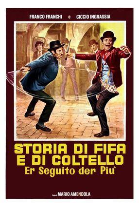 Poster: Storia di fifa e di coltello - Er seguito d'er più