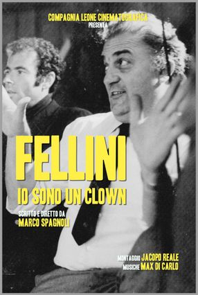 Poster: Fellini – Io sono un Clown