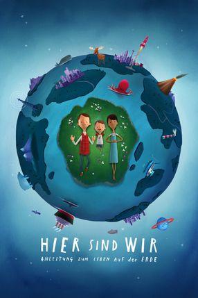 Poster: Hier sind wir: Anleitung zum Leben auf der Erde