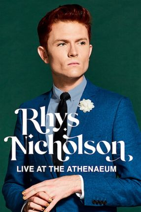 Poster: Rhys Nicholson: Live at the Athenaeum