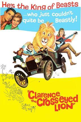 Poster: Clarence, der schielende Löwe