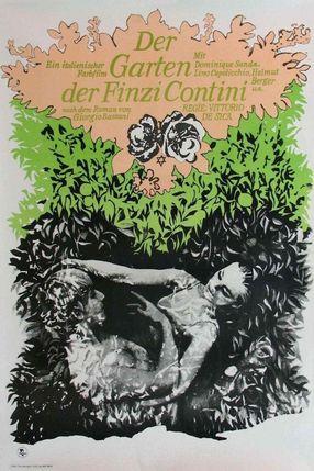 Poster: Der Garten der Finzi Contini