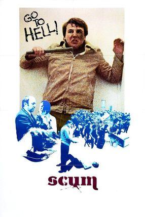 Poster: Abschaum - Höllenloch der Gewalt!
