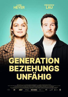 Poster: Generation Beziehungsunfähig