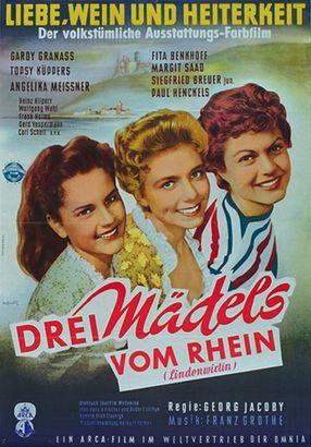 Poster: Drei Mädels vom Rhein
