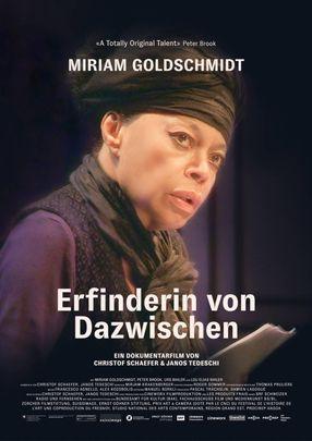 Poster: Miriam Goldschmidt – Erfinderin von Dazwischen