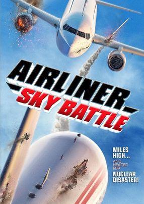 Poster: Airliner Sky Battle