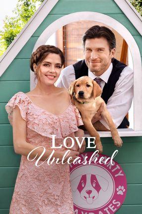 Poster: Liebe mit Herz und Hund