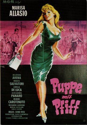 Poster: Puppe mit Pfiff