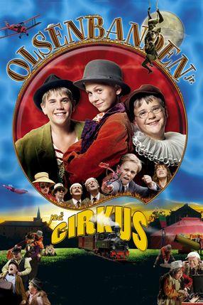 Poster: Die Olsenbande Junior im Zirkus