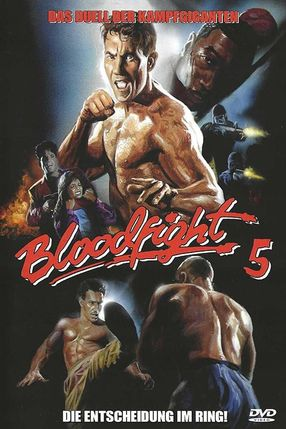 Poster: Bloodfight 5 - Die Entscheidung im Ring!