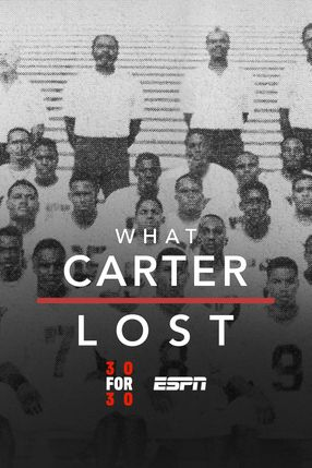 Poster: What Carter Lost
