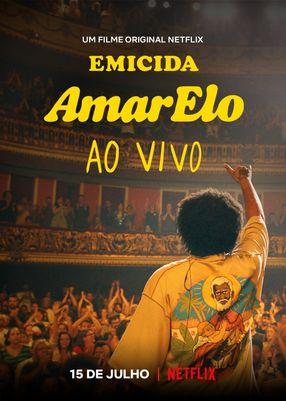 Poster: Emicida: AmarElo – Live in São Paulo
