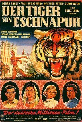 Poster: Der Tiger von Eschnapur