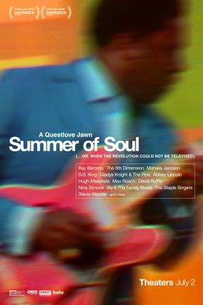Poster: Summer of Soul (...or, When the Revolution Could Not Be Televised)