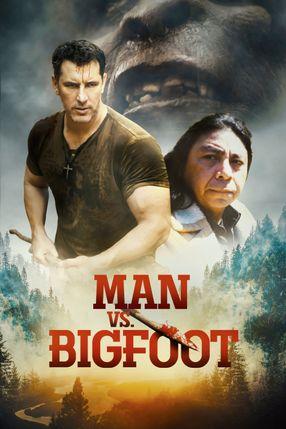 Poster: Man vs. Bigfoot