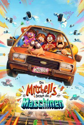 Poster: Die Mitchells gegen die Maschinen