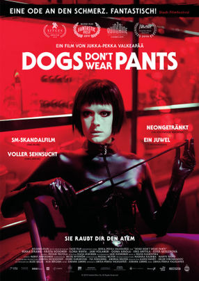 Poster: Dogs don't wear Pants