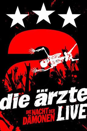 Poster: Die Ärzte - Die Nacht der Dämonen