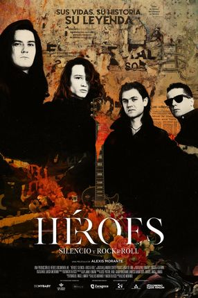 Poster: Heroes: Silence and Rock & Roll