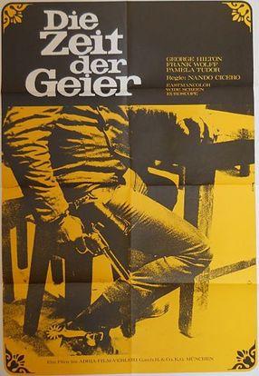 Poster: Die Zeit der Geier