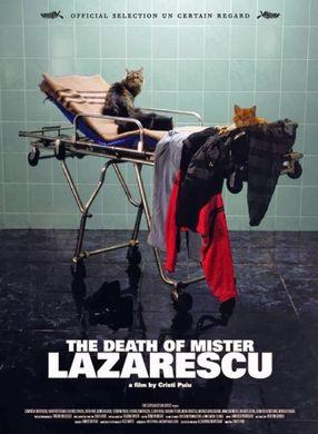 Poster: Der Tod des Herrn Lazarescu