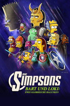 Poster: Die Simpsons: Bart und Loki: Zwei Glorreiche Halunken