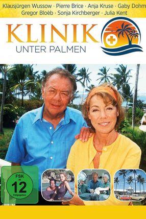 Poster: Klinik unter Palmen