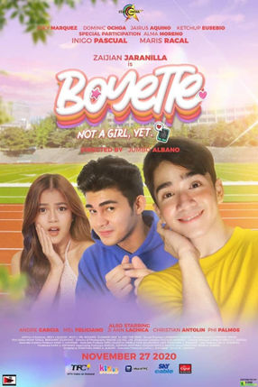 Poster: Boyette: Not a Girl Yet