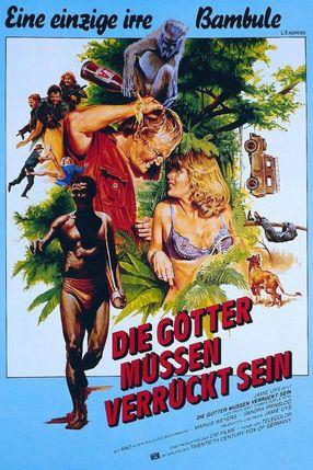 Poster: Die Götter müssen verrückt sein