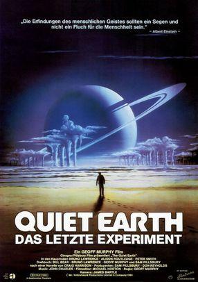 Poster: Quiet Earth - Das letzte Experiment