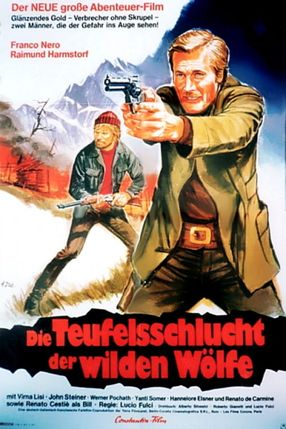 Poster: Die Teufelsschlucht der wilden Wölfe