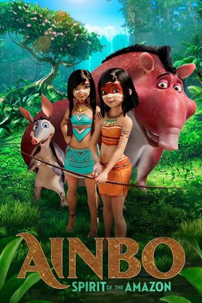 Poster: Ainbo - Hüterin des Amazonas