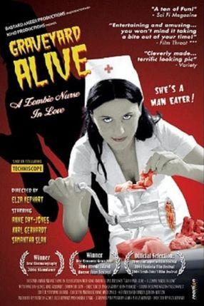 Poster: Graveyard Alive - Die liebeskranke Zombie-Krankenschwester...