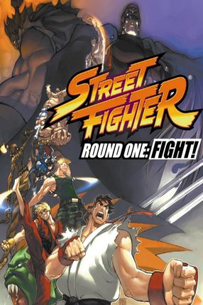 Poster: Street Fighter: Round One - FIGHT!