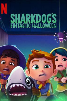 Poster: Sharkdog's Fintastic Halloween