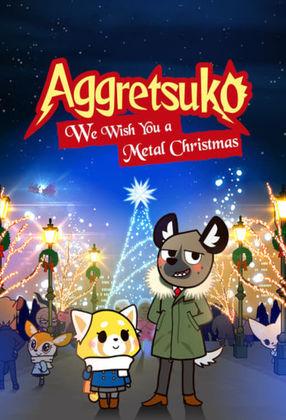 Poster: アグレッシブ烈子: We Wish You a Metal Christmas