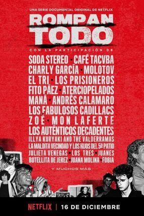 Poster: Reißt alles nieder: Die Geschichte des Rock in Lateinamerika